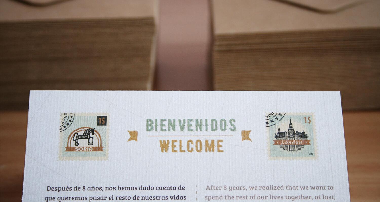Invitación bienvenidos